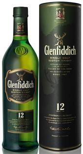 Glenfiddich Scotch Single Malt 12 Year Our Signature Malt...